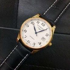 114浪琴 名匠系列 B1641049420010 皮带 机械男表 18K金 私人定制真金真钻手表