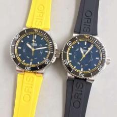 001豪利时ORIS .潜水AQUIS系列B13147915506 橡胶带 机械男表
