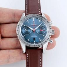 【复刻手表】703欧米茄.超霸系列B17265917008J50 皮带 机械男表 BF