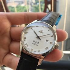 【复刻手表】712欧米茄.碟飞系列B404799009J50 皮带 机械男表 W厂