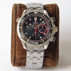 【复刻手表】725欧米茄.海马系列B1317405915509 钢带 机械男表 AC