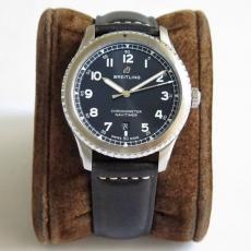 【复刻手表】057百年灵.航空计时系列B131745914009 皮带 机械男表 ZF