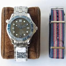 【复刻手表】750欧米茄.海马系列B1316549170010 钢带 机械男表 UR