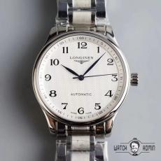 【复刻手表】491浪琴.名匠系列B4507910009J50 钢带 机械男表