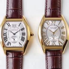 【复刻手表】648卡地亚.龟型系列B4507912009J50 皮带 机械男表