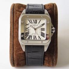 【复刻手表】653卡地亚.桑托斯系列B131745918009 皮带 机械男表 KZ台湾厂