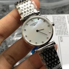 【复刻手表】495浪琴.嘉岚系列.原单B106745917009 钢带 石英女表