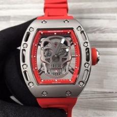 【精仿手表】122理查德米勒.RM052 B45932745990012 橡胶带 机械男表