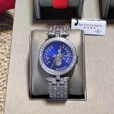 【顶级复刻手表】062梵克雅宝.诗意复杂功能腕表系列B28075532914501 钢带 石英女表