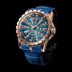 【精仿手表】086罗杰杜彼.王者系列 圆桌骑士B259745919002J50 皮带 机械男表