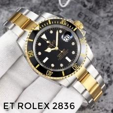 308劳力士.潜行者日历型.水鬼B535663911003 钢带 机械男表 ET